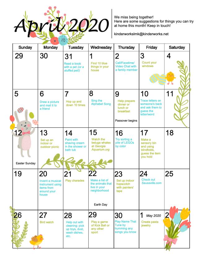 February LMK Calendar